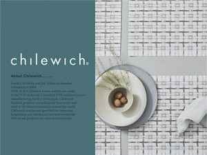chilewich POPUP 10/3から開催します!!